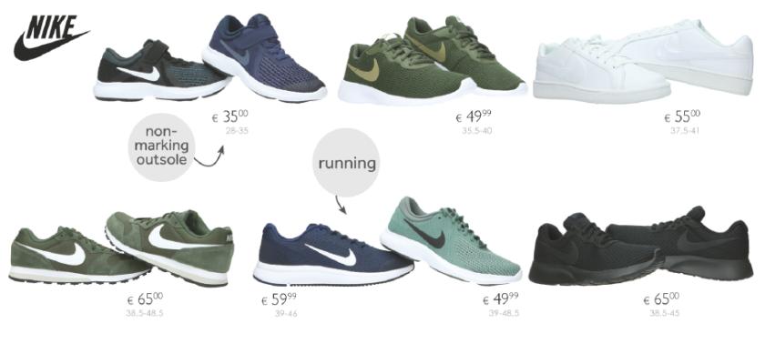b6a0c441bdf Nike. De kortingsbonnen van €12.50 zijn echter niet cumuleerbaar met  kortingen en promoties.