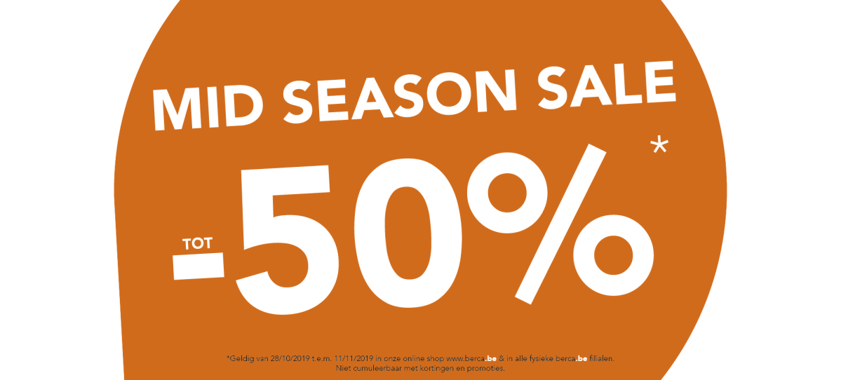 Mid season sale 🍁 tot -50%*🍁