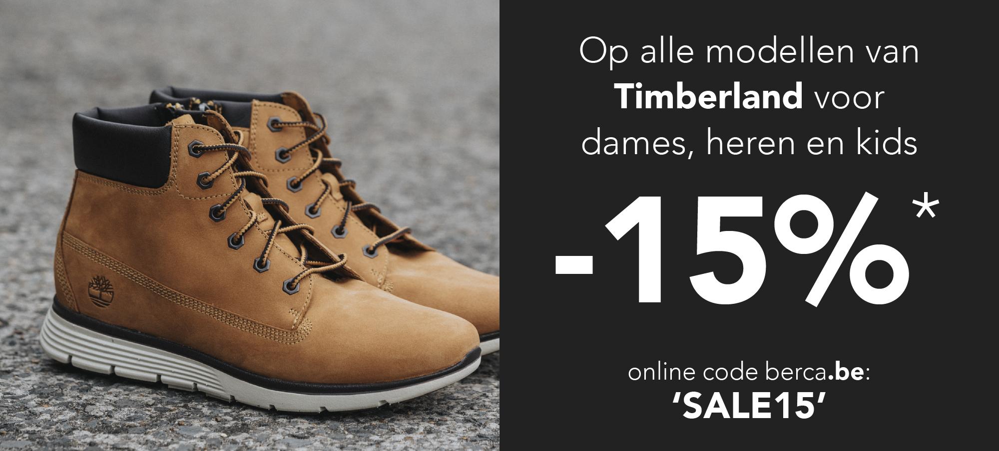 Timberland Factory Outlet, kortingen tot 50%